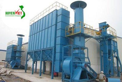 Hệ thống xử lý khí thải thiết kế thi công lắp đặt – Công ty Xuyên Việt