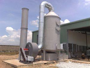 xu ly khi thai bang phuong phap hap thu 1 300x225 Hệ thống xử lý khí thải công nghiệp đạt chuẩn   Công ty Xuyên Việt