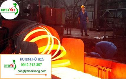 cong nghe san xuat 2 Hệ thống xử lý nước thải khí thải sản xuất sắt thép   Công ty Xuyên Việt