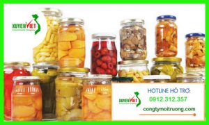Hệ thống xử lý nước thải chế biến trái cây đóng hộp đạt chuẩn chất lượng