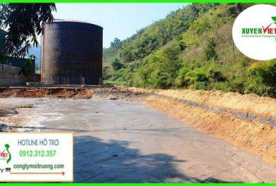 Hệ thống xử lý nước thải chế biến tinh bột sắn đạt chuẩn chất lượng số 1