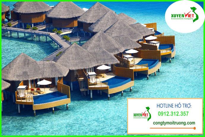 Top bai bien dep nha the gioi Maldives 1 Hệ thống xử lý nước thải khu resort đạt chuẩn   Môi Trường Xuyên Việt